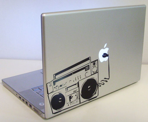 Наклейка ноутбук